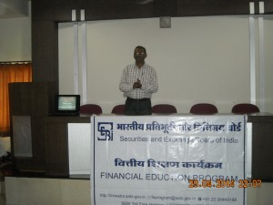 A Guest Lecture by - Mr. Kakade  on Finance