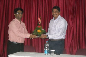 Guest Lecture-on the topic - Leadership