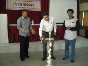 Inauguration of Hira Utsav - An Intercollegiate Competition