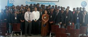 Industial Visit to Volkswagen Industries Group II