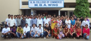 MBA I Students on the first day of MBA I