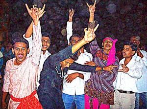 Students at Dandiaya