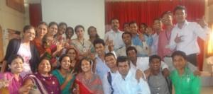 Studunts with Faculty at Aarambh 2016