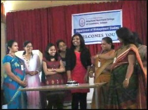 Womens Day Celebration at MBA Wing