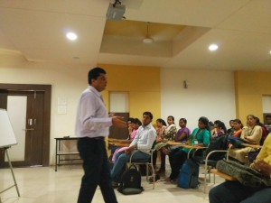 Session on Career Guidance (Management Careers in Politics) by Mr. Lal. MITSOG, Pune