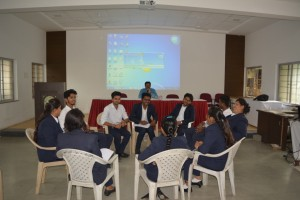Workshop on Interview techniques and group discussion for MBA II-1