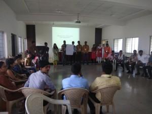 Workshop on Presentation skills for MBA I- 2